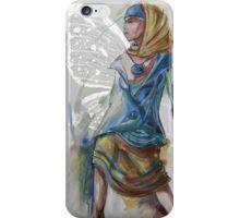 Butterfly woman iPhone Case/Skin