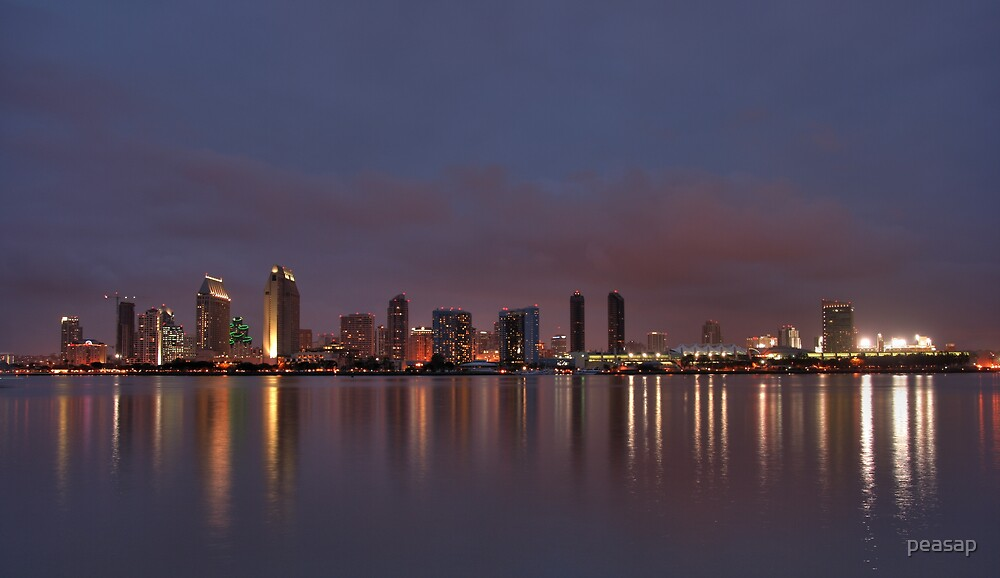City Lights by peasap