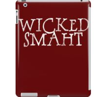 Wicked Smaht iPad Case/Skin