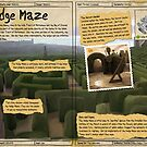 Practical Visitor's Guide to the Labyrinth - The Hedge Maze by Art-by-Aelia