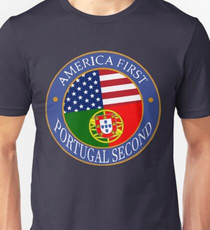 America First Portugal Second Unisex T-Shirt