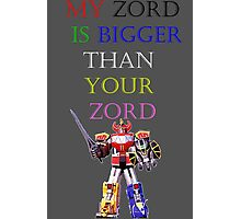 My Zord is Bigger Photographic Print