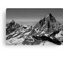 The magnificent Alps Canvas Print