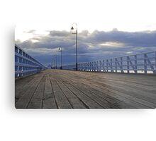 Shorncliffe Pier - Queensland, Australia Metal Print