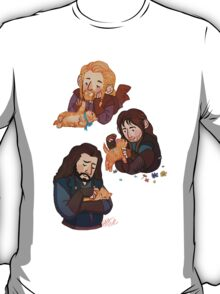 The Durins and the Kitten T-Shirt