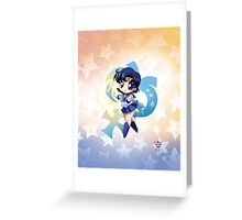 Chibi Super Sailor Mercury Greeting Card