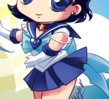 Chibi Super Sailor Mercury Sticker