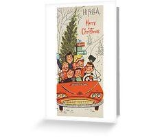 Vintage Christmas Card #5 Greeting Card