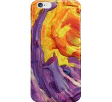 """Brightscape"" original abstract landscape by Laura Tozer iPhone Case/Skin"