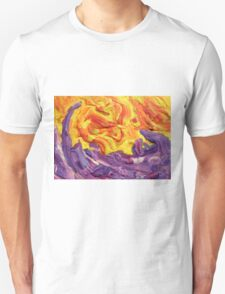 """""""Brightscape"""" original abstract landscape by Laura Tozer T-Shirt"""