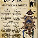 Practical Visitor's Guide to the Labyrinth - Ralph and Jim by Art-by-Aelia