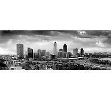 Perth Skyline Photographic Print
