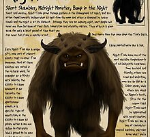 Practical Visitor's Guide to the Labyrinth - Night Troll by Art-by-Aelia