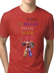 My Zord is Bigger Tri-blend T-Shirt