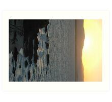 BYRON ROCKS Art Print