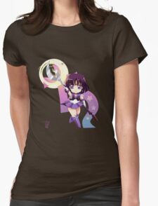 Chibi Super Sailor Saturn Womens Fitted T-Shirt