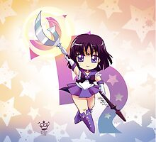 Chibi Super Sailor Saturn by MakoFufu
