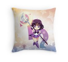 Chibi Super Sailor Saturn Throw Pillow