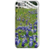 bluebonnets iPhone Case/Skin