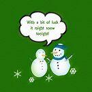 Lucky Snowmen by sarnia2