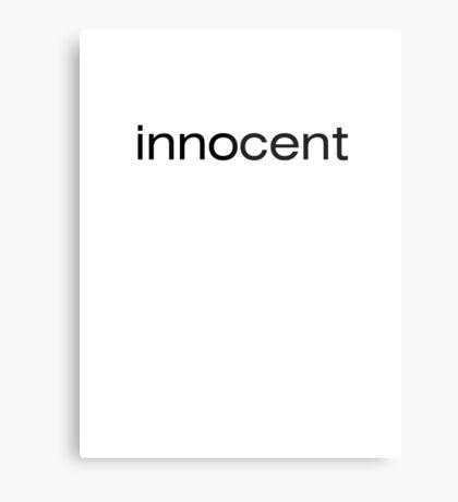 innocent Metal Print