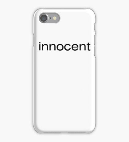 innocent iPhone Case/Skin