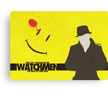 Watchmen - Rorschach  Canvas Print