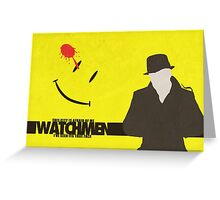 Watchmen - Rorschach  Greeting Card