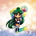 Chibi Super Sailor Pluto by MakoFufu