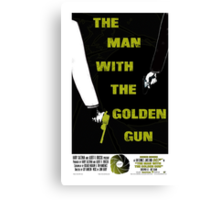 The Man With The Golden Gun 007 Canvas Print