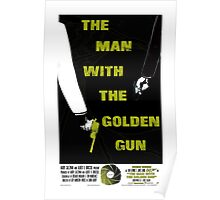 The Man With The Golden Gun 007 Poster
