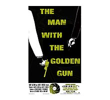 The Man With The Golden Gun 007 Photographic Print