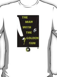 The Man With The Golden Gun 007 T-Shirt