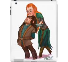 Kili and Tauriel iPad Case/Skin