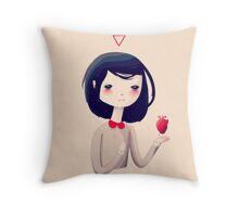 The Heart Throw Pillow