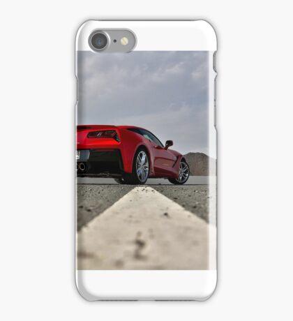 Chevrolet Corvette Stingray C7 in UAE iPhone Case/Skin