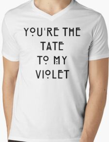 You're the Tate to my Violet Mens V-Neck T-Shirt