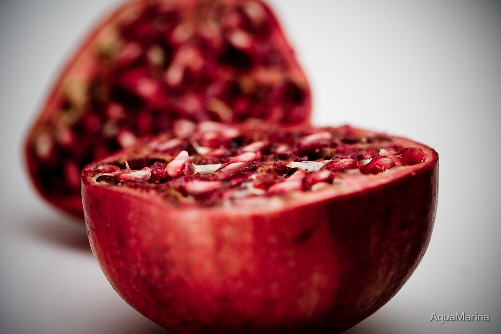 Juicy pomegranate by AquaMarina