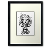 Ghost Fairy Framed Print