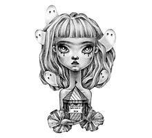 Ghost Fairy Photographic Print