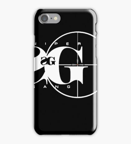 Sniper Gang Shirt iPhone Case/Skin