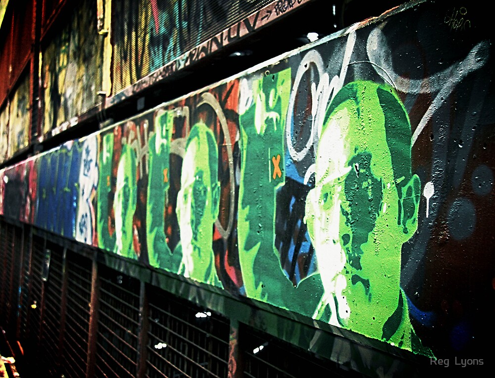Green Man by Reg  Lyons