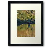 Reflection of the Valleys...  Framed Print