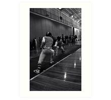 Australian National Fencing Tournament 2007, Perth WA Art Print