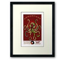 Octopussy Framed Print