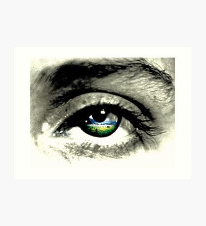 what eye see.  Art Print