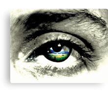 what eye see.  Canvas Print