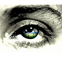 what eye see.  Photographic Print
