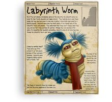 Practical Visitor's Guide to the Labyrinth - The Worm Metal Print