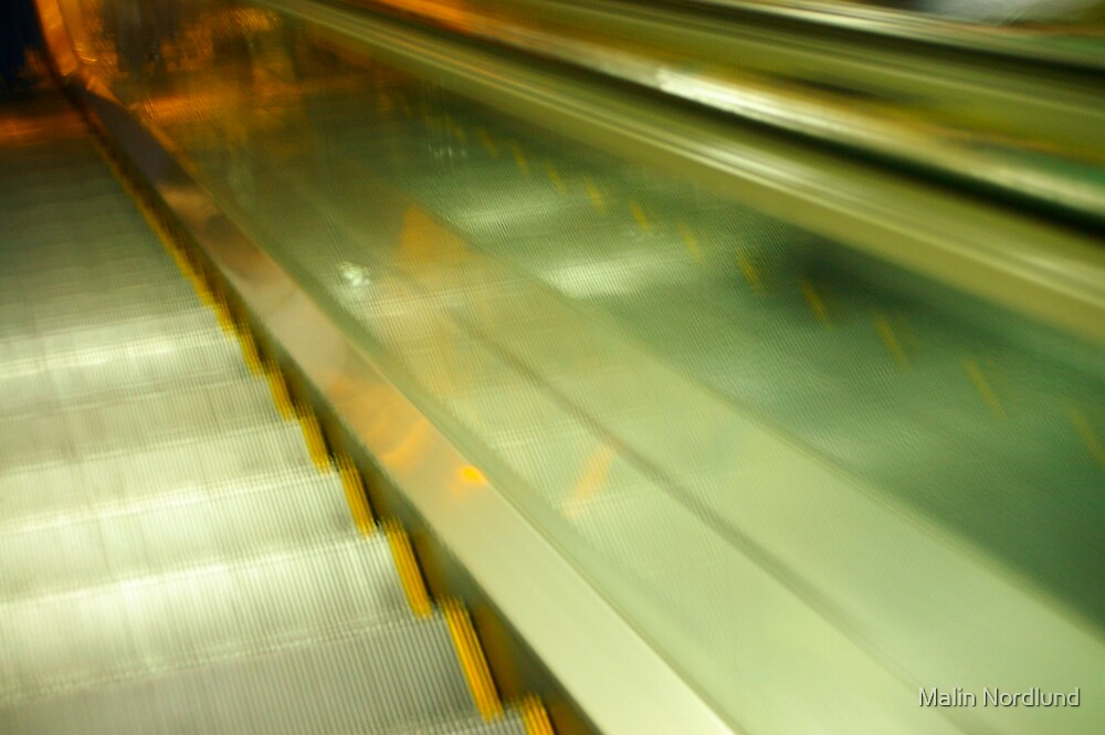 escalator madness by Malin Nordlund